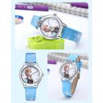 [PT563] Frozen Style Blue Color Kids Watch (Jam Tangan Kanak)