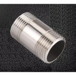 "304 Stainless Steel ½"" Polished Pipe NIPPLE Male Threaded End Adaptor Fitting"