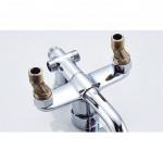 """[HB218] Rain Shower Diverter Valve Brass Reducer Fitting G3/4""""–G1/2"""" Offset1.5cm"""