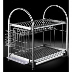 [HK131] 304 stainless steel 2 - Layer Bowl Dish Rack / Rak Pinggan Mangkuk