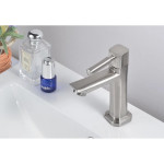 [HB525] 304 S/S Bathroom Basin / Sink Faucet Deck Mounted Water Tap
