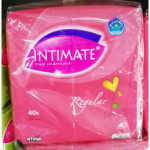 INTIMATE PANTYLINERS REGULAR TWIN PACK 40sx2