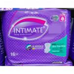 INTIMATE ULTRA THIN WING NIGHT USE 16s