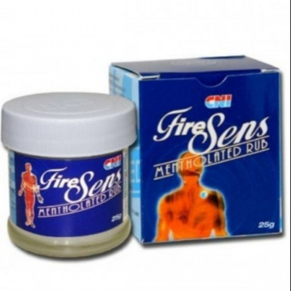 CNI Fire Sens mentolated rub 25g