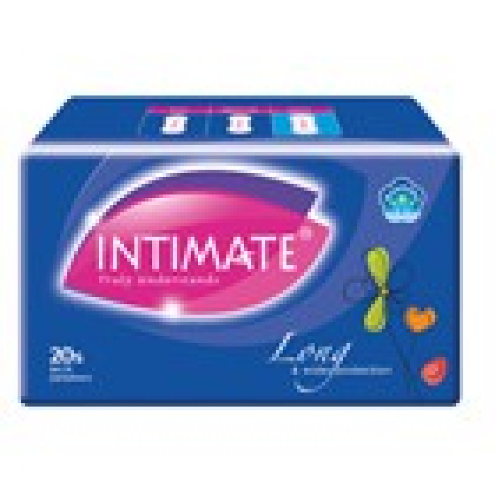 INTIMATE PANTYLINERS LONG 20s