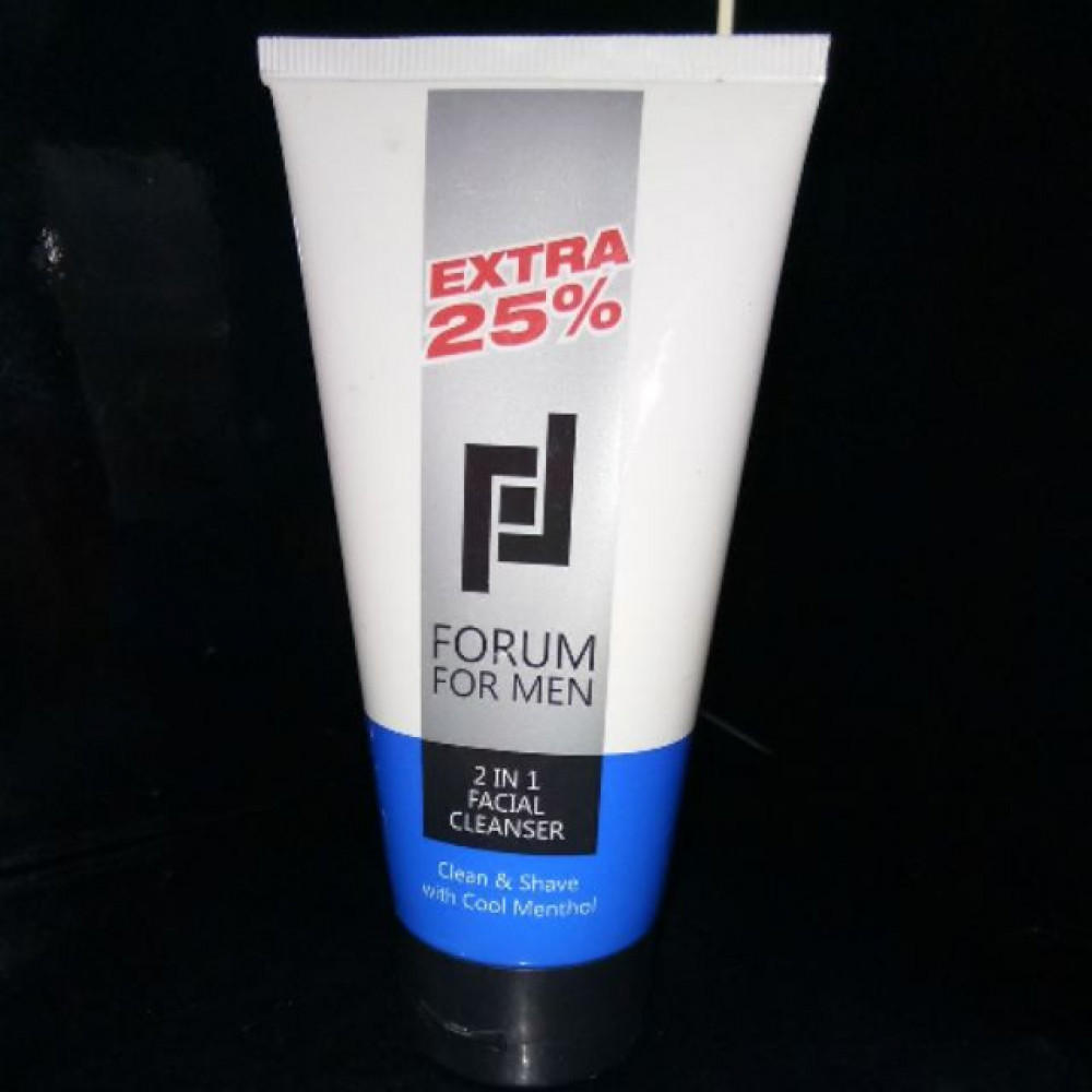 FORUM 2IN1 FACIAL CLEANSER 100G