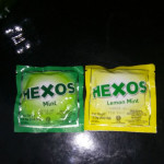 HEXOS MINT/LEMON MINT 5X2.5