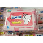 DIAPEX SOFT BABY WIPES 30s
