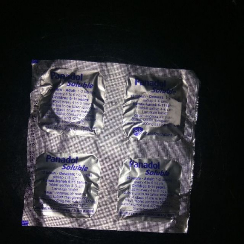 PANADOL SOLUBLE 4's TABLET'S