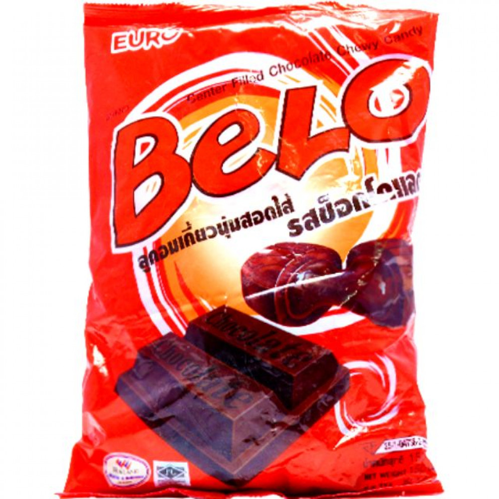 belo chocolate chewy candy 120g