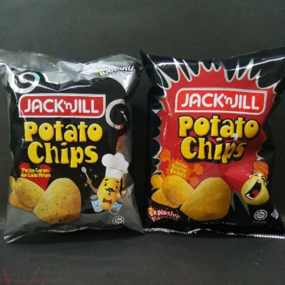 JACK & JILL POTATO CHIP 60G