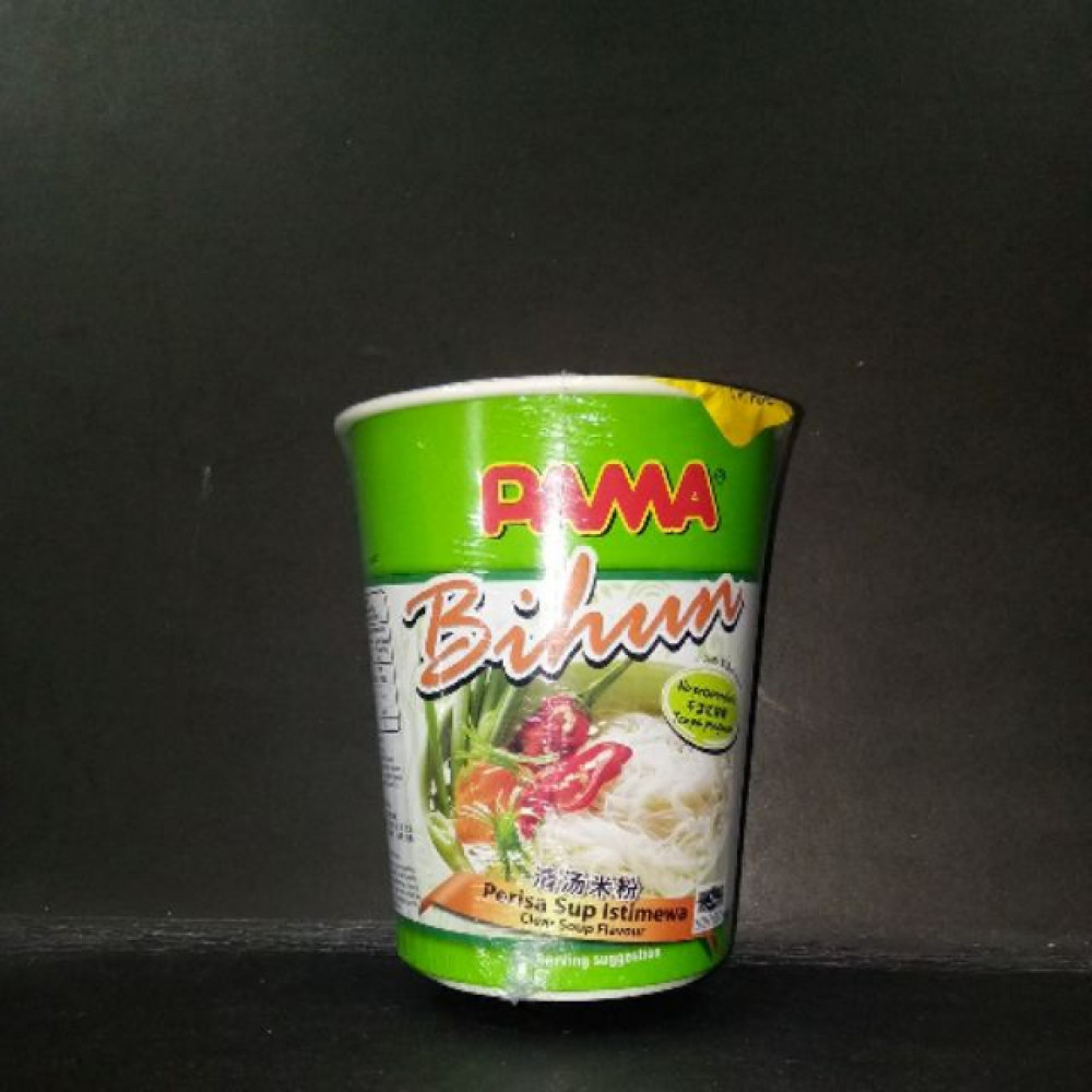 PAMA CUP BIHUN CLEAR SUP 50G
