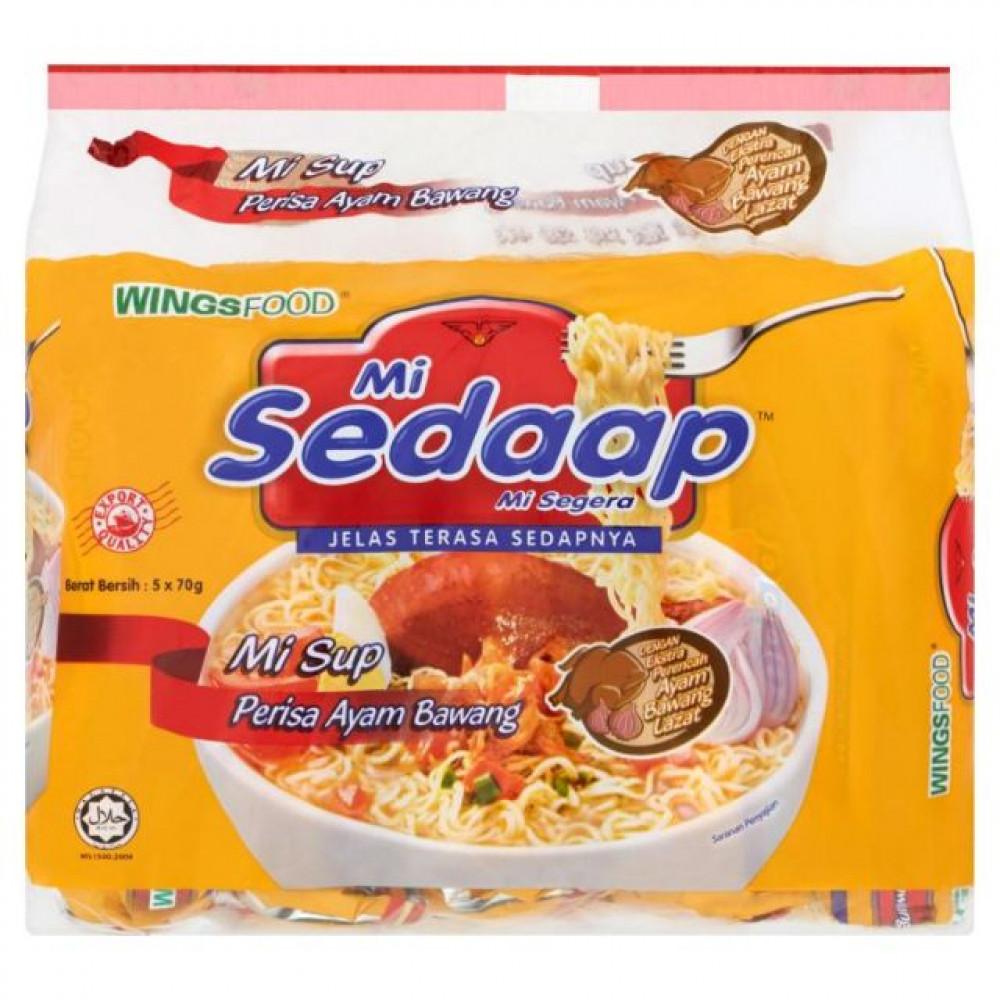 mi sedaap mi sup perisa ayam bawang (5x70g)