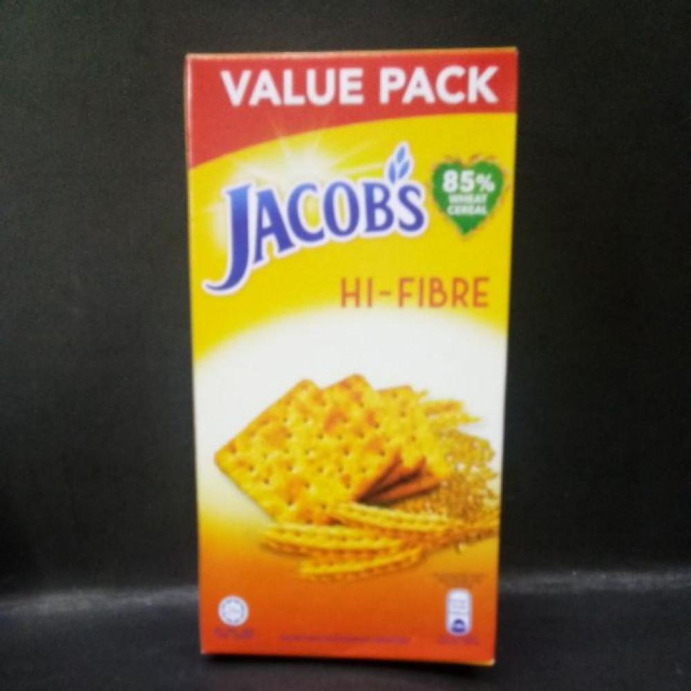 JACOB'S HI-FIBRE 355G VALUE PACK