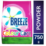 breeze colour care detergent powder 750g