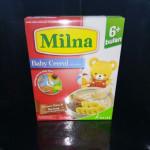MILNA BABY CEREAL BROWN RICE & BANANA 120G