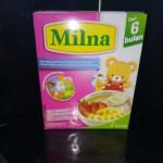 MILNA BABY CEREAL BANANA & STRAWBERRY 120G