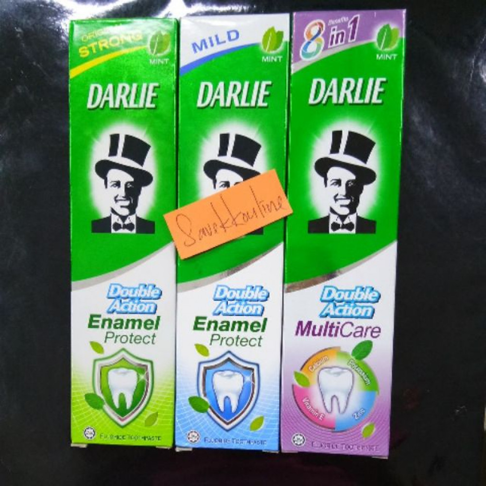 DARLIE DOUBLE ACTION TOOTHPASTE 80G/90G