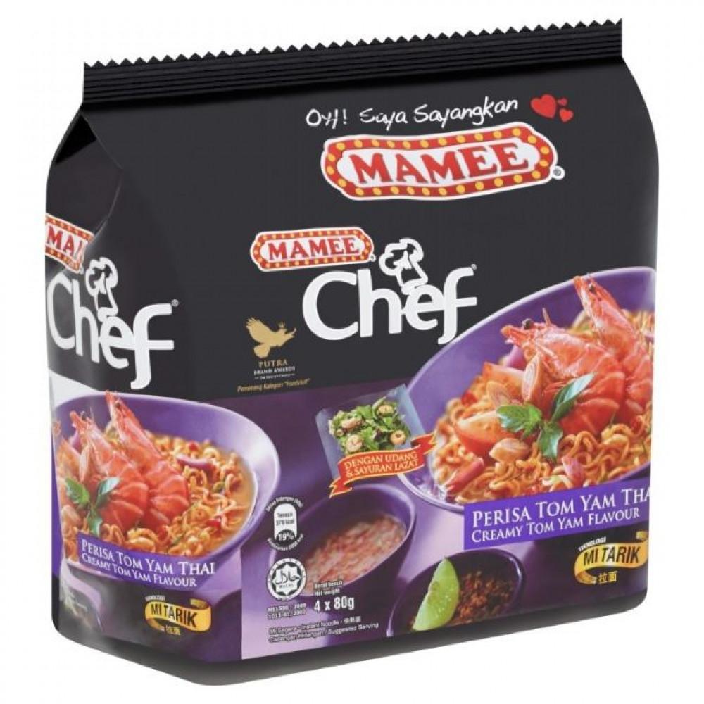 Mamee Chef Creamy TomYam Flv 4x80g