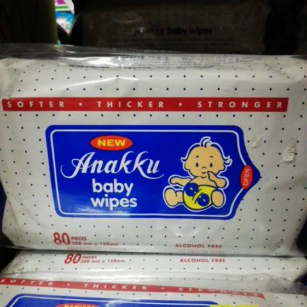 ANAKKU BABY WIPES 80s (SINGLE/TWIN PACK)