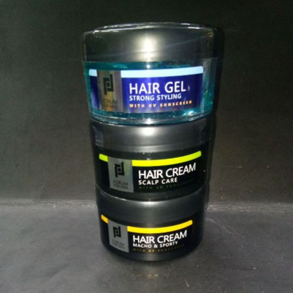 FORUM FOR MEN HAIR GEL/HAIR CREAM 125ML