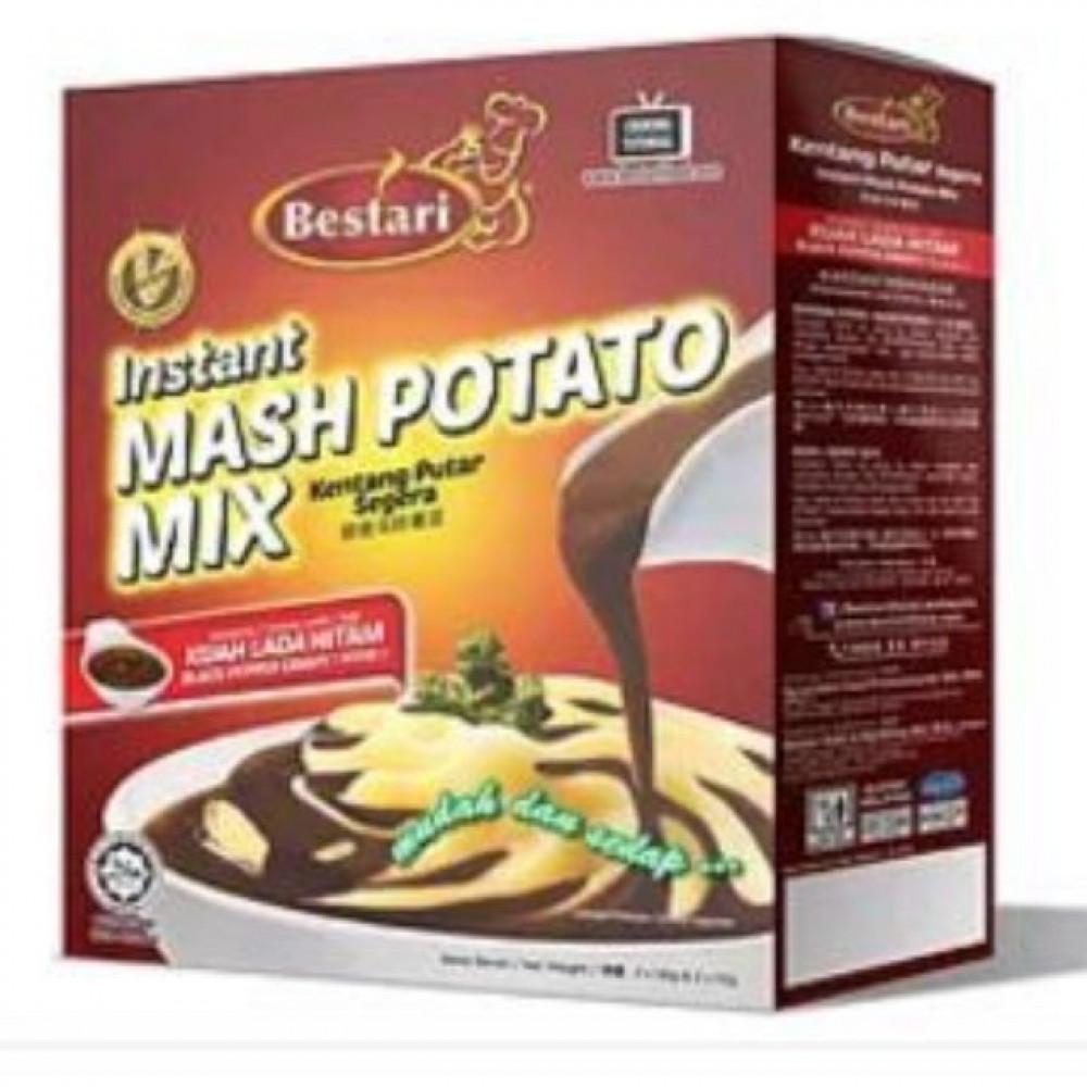 Bestari Instant Mash Potato Mix Chicken/Black Pepper 2x55g