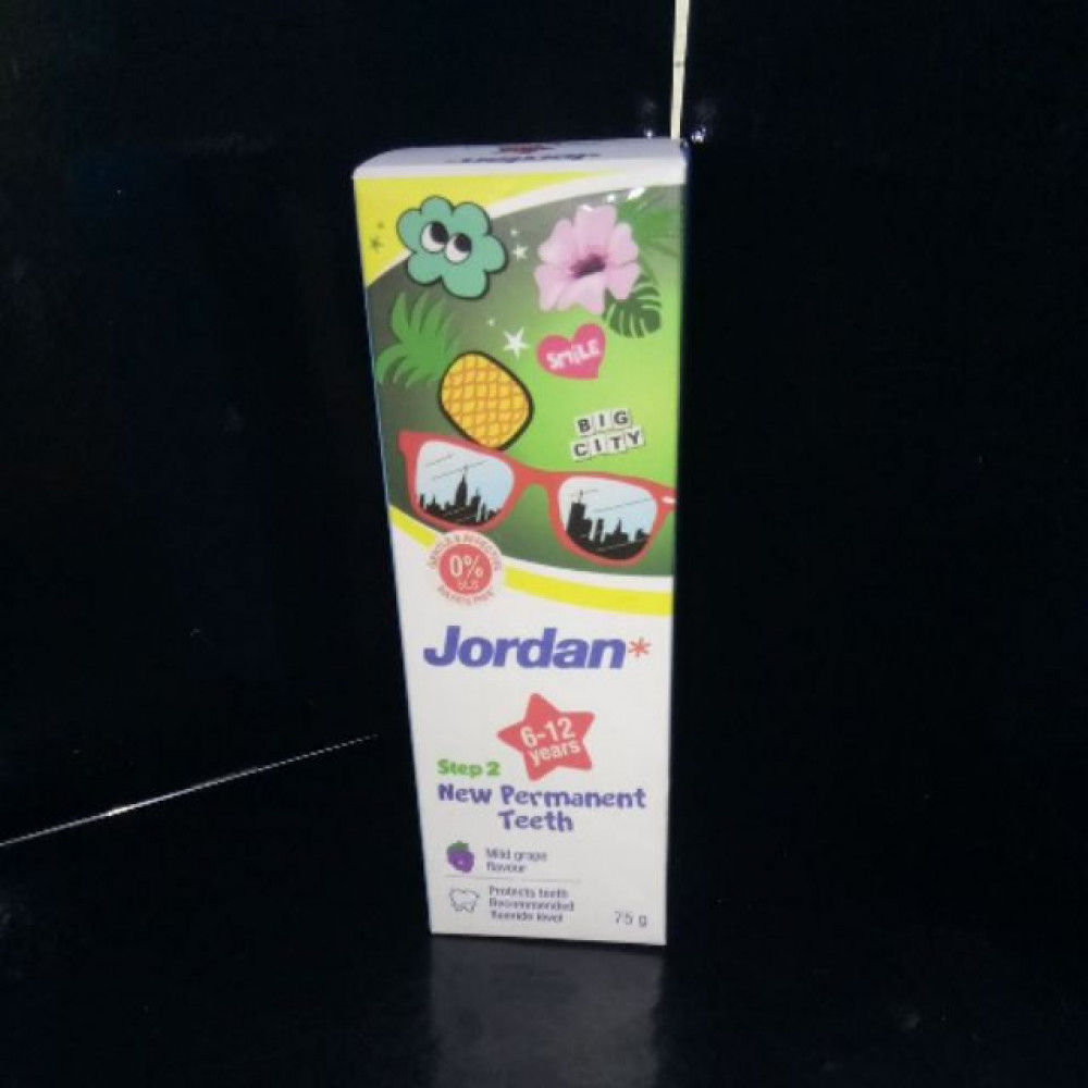 JORDAN TP 6-12 YEARS MILD GRAPE 75G