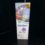 JORDAN MILK TEETH 0-5 YEARS MILD STRAWBERRY 75G