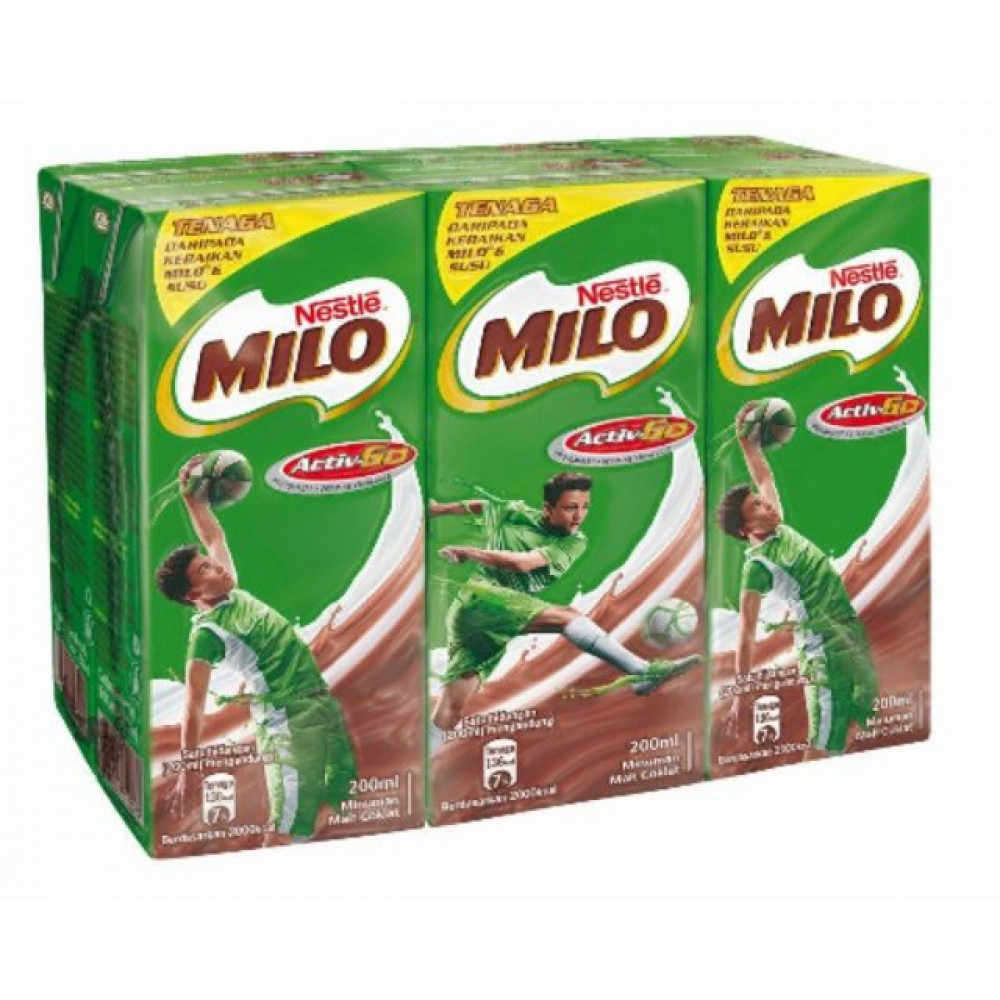Nestle milo Active-Go 6x200ml
