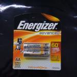 ENERGIZER ADVANCED AA 2'S