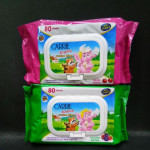 CARRIE JUNIOR FUNTIME WIPES 80 SHEETS