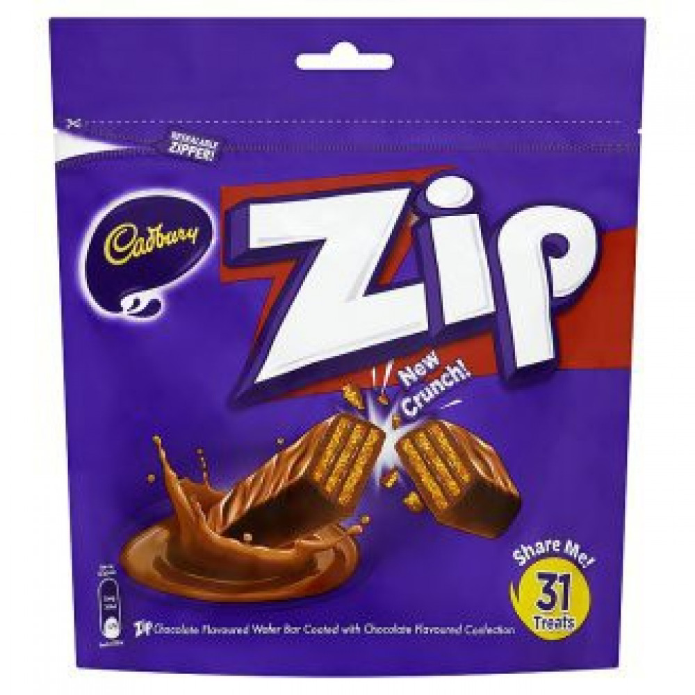 Cadbury Zip Sharebag 31s
