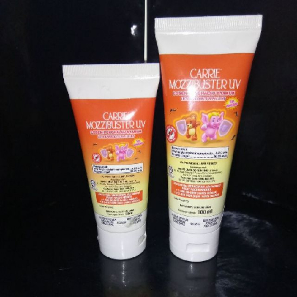 CARRIE MOZZIBUSTER UV LOTION 50ML/100ML
