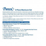 PUREEN 3 PIECE MANICURE SET