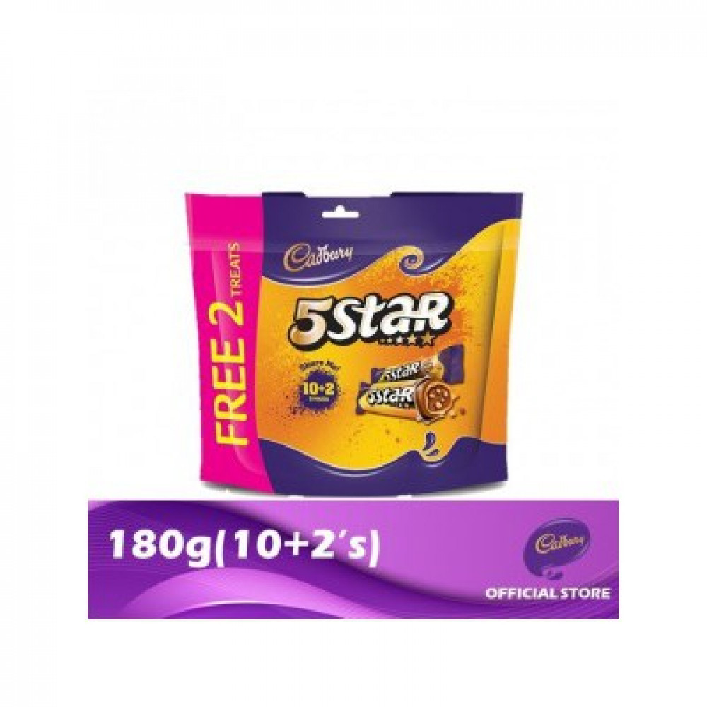 cadbury 5 star 10+2 150gm
