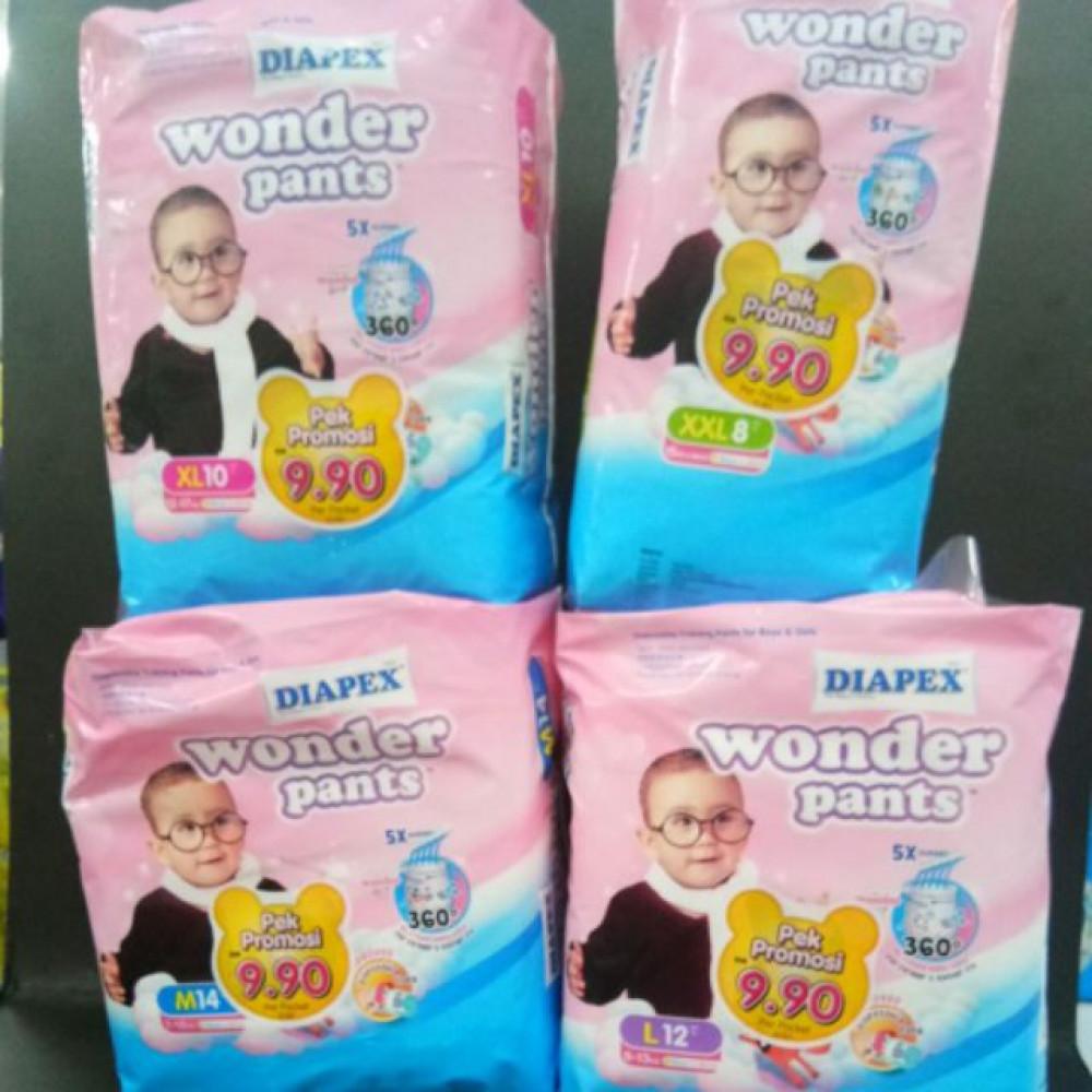 DIAPEX WONDER PANTS BABY DIAPER ALL SIZE