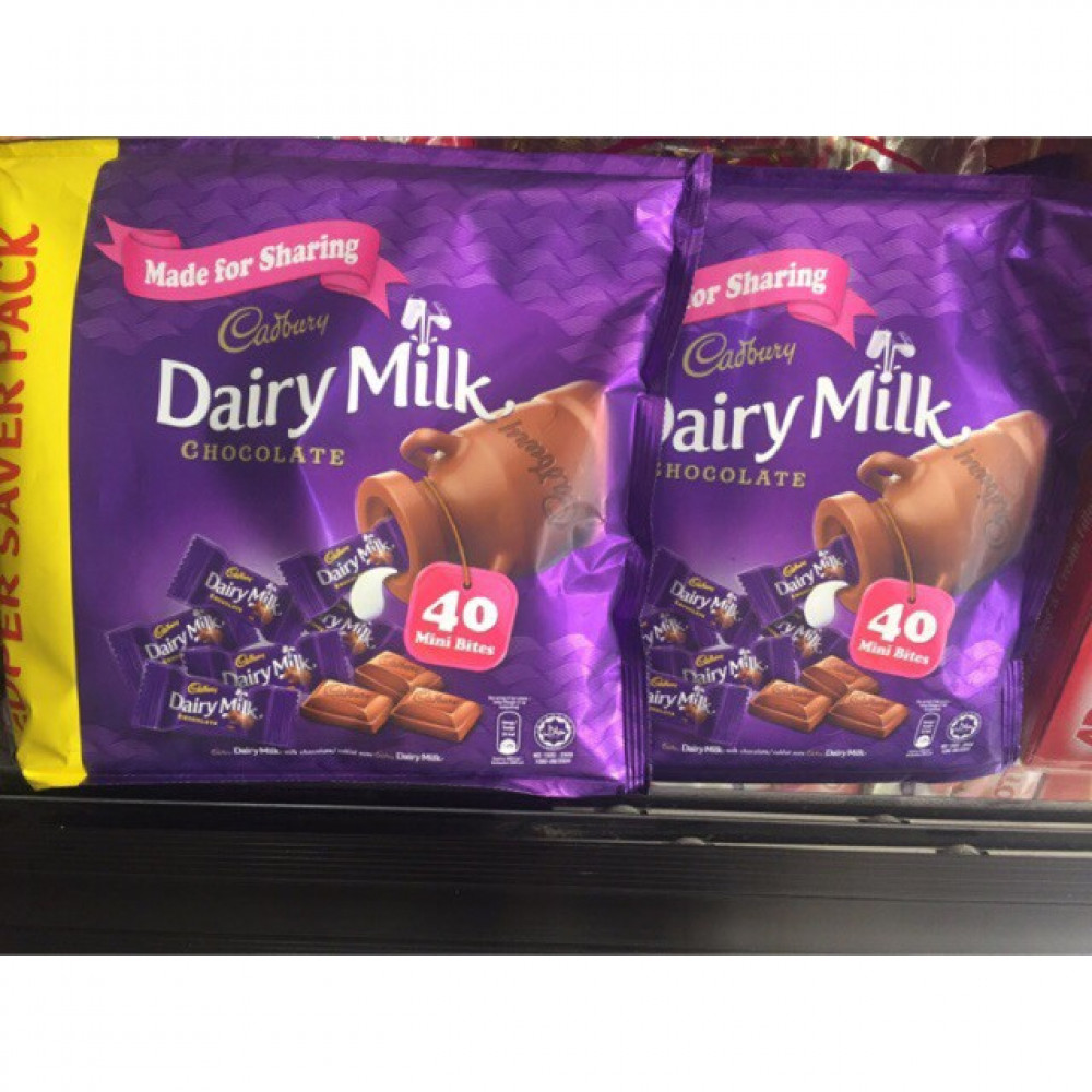 CADBURY DAIRY MILK CHOCOLATE 40 MINI BITES