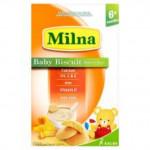 Milna Baby Biscuits Orange 260g