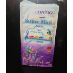 CARINA Wipes Super Mini Lavender 64pcs