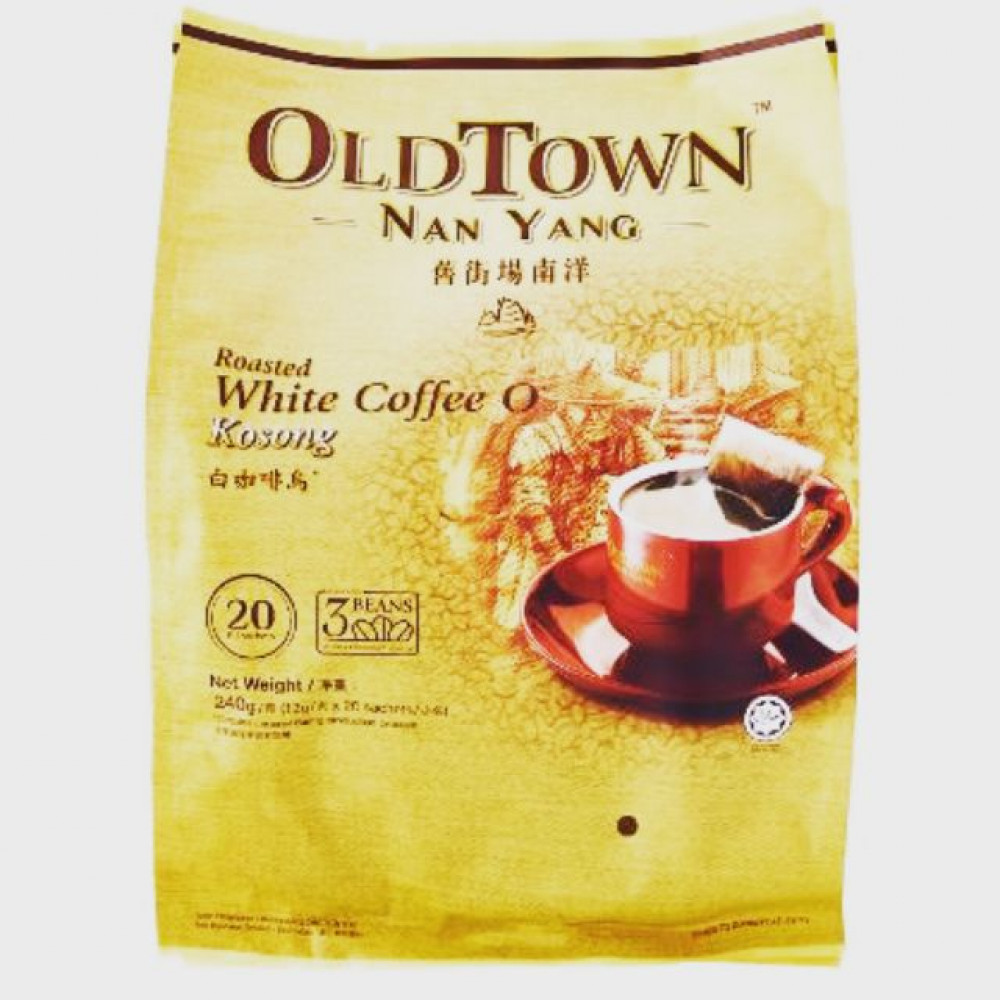 OldTown Nan Yang White Coffee O No Sugar Added (12g x 20sac)
