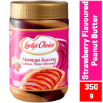 lady's choice stawberry peanut butter 350g