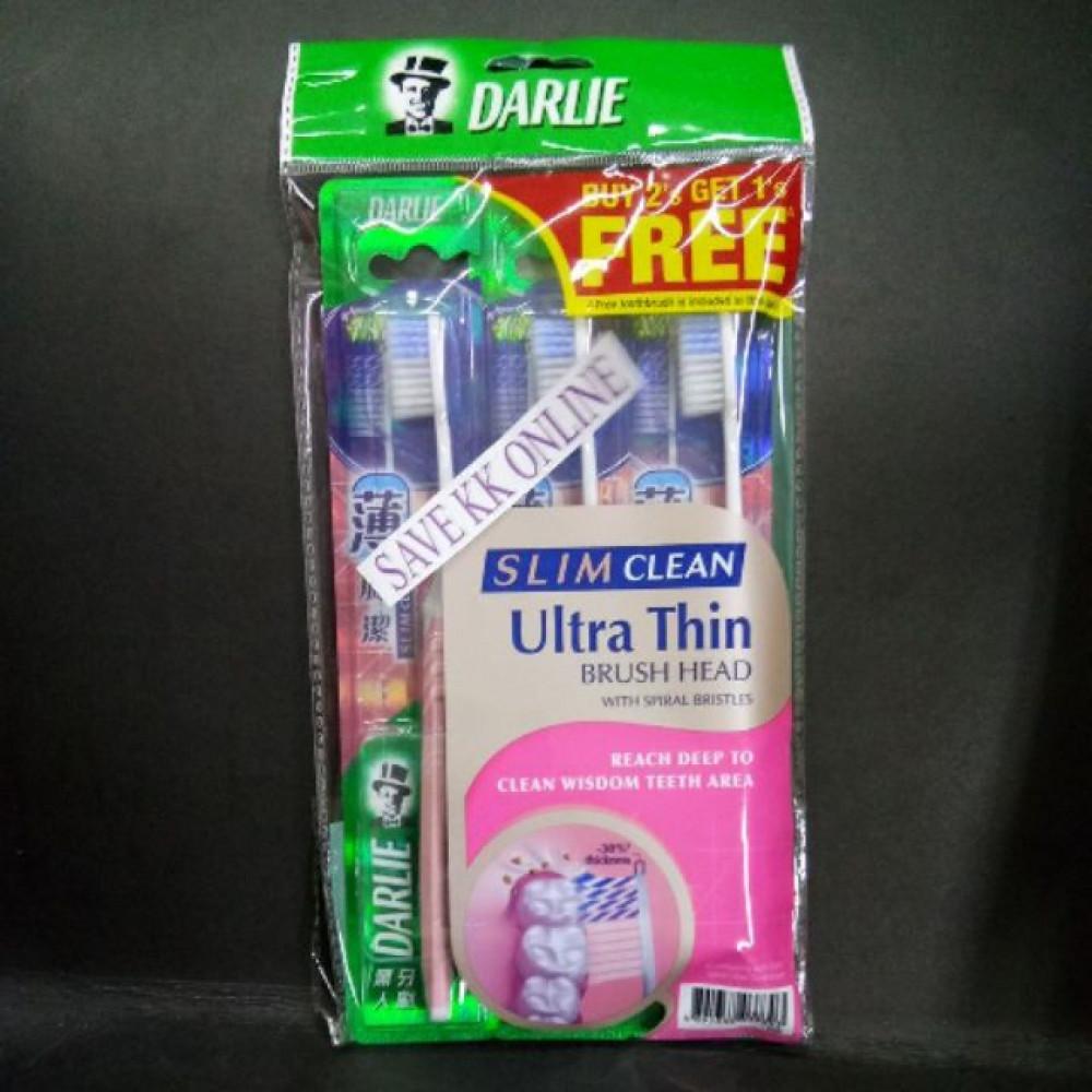 DARLIE TOOTHBRUSH SLIM CLEAN BUY 2 GET 1