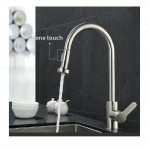 304 Stainless Steel Premier Swan Neck Pullout Kitchen Spray Tap (Reverse T Nozzle )