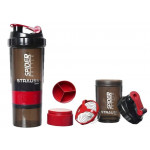 Spider 3 in 1 Protein Shaker Bottle
