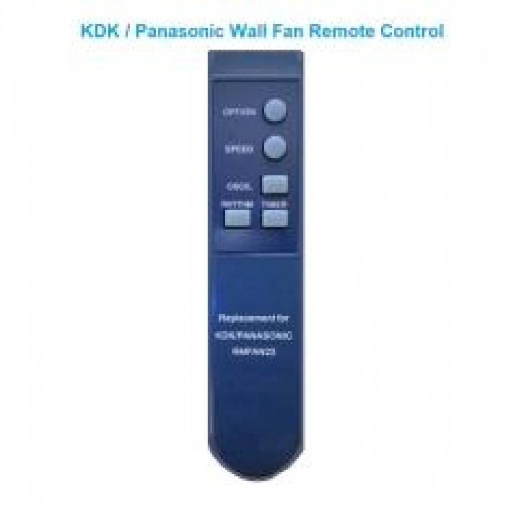 KDK/PANASONIC WALL FAN REMOTE CONTROL
