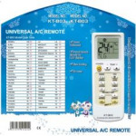Universal Aircon Remote Control KT-B03