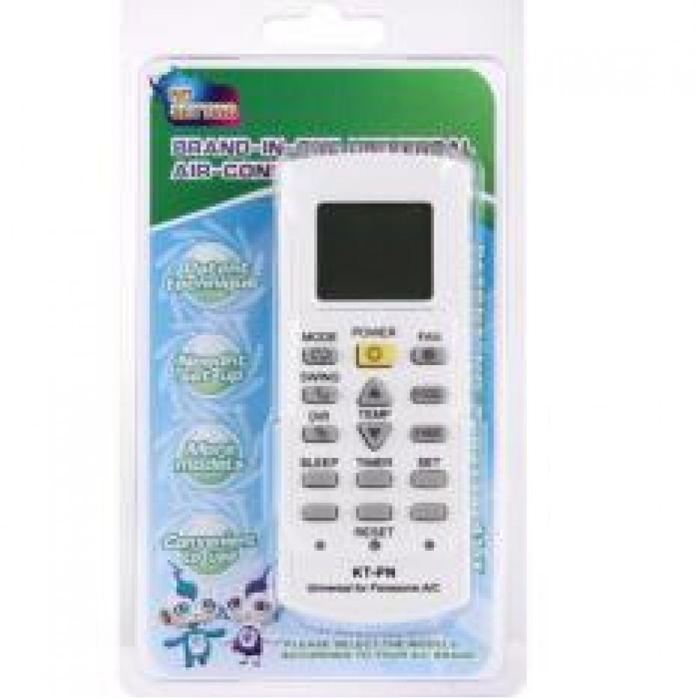 Universal Air Conditioner Remote Control for Panasonic FREE Battery