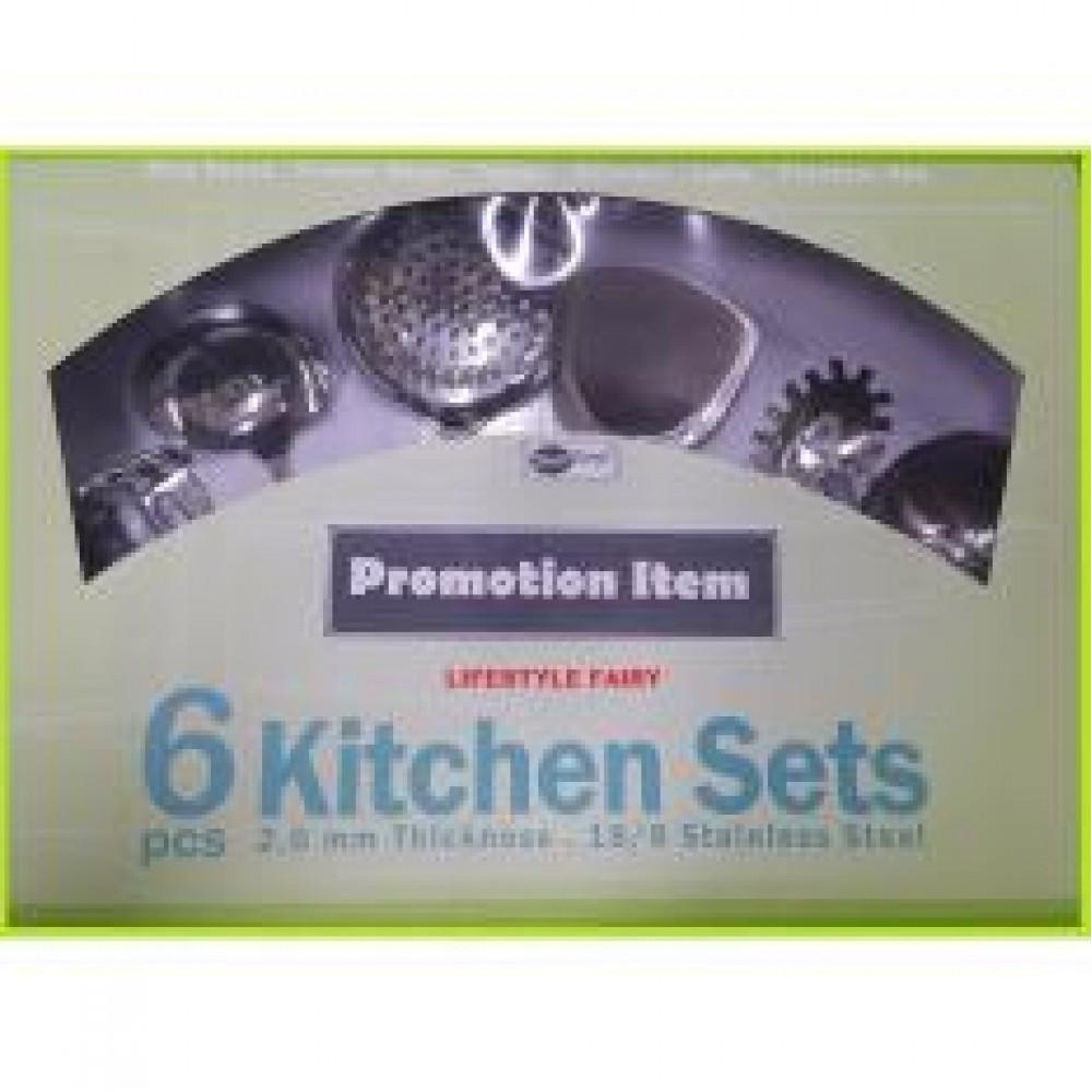 6-PCS Kitchen Sets