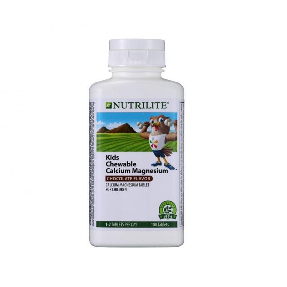 Amway NUTRILITE Chewable Calcium Magnesium (100 tab)