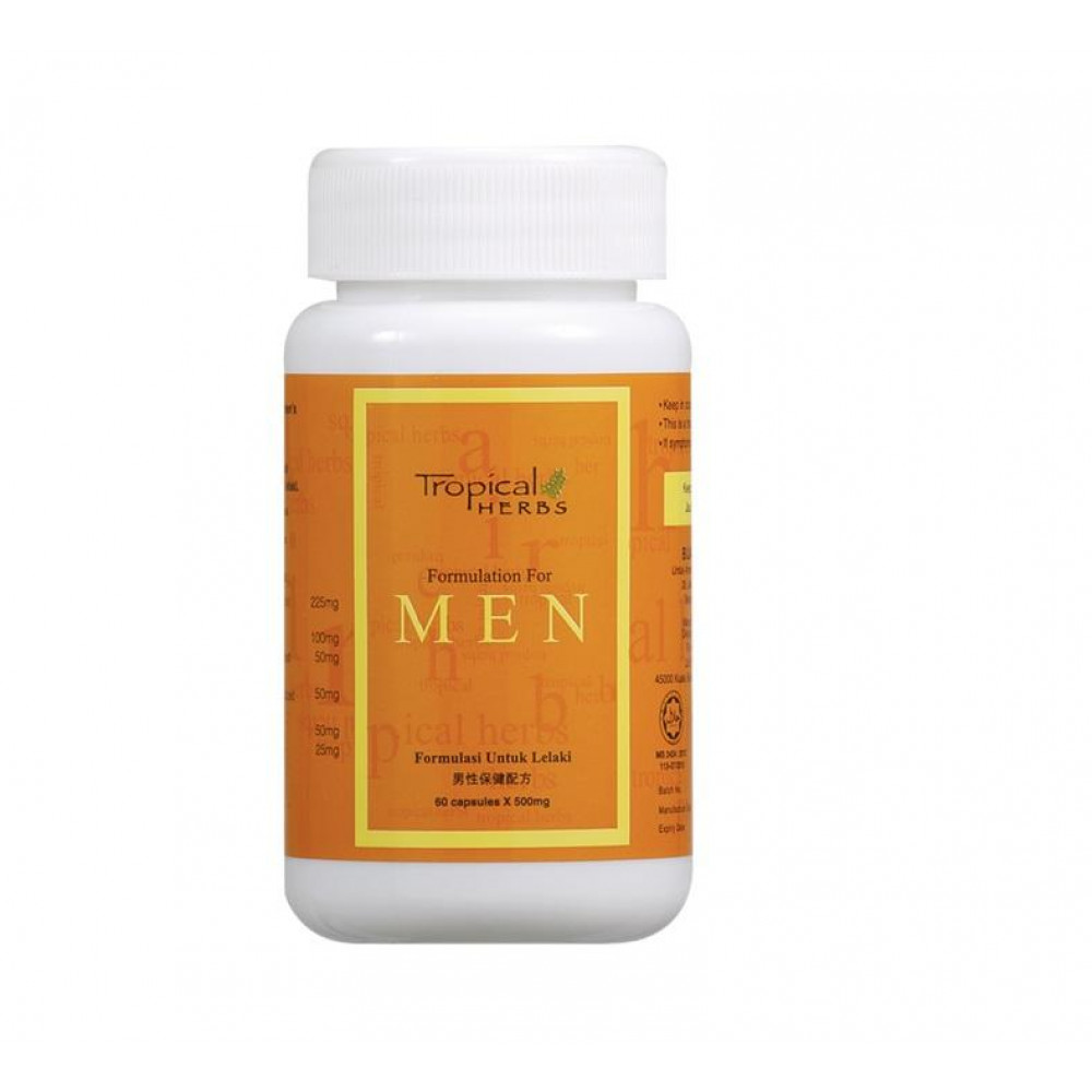 Amway Tropical Herbs Formulation for Men (60 cap)